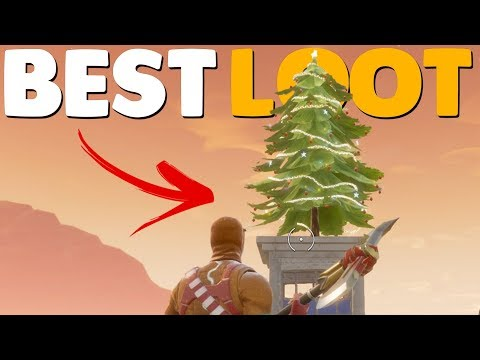 8 SECRET CHRISTMAS CHESTS / LOOT LOCATIONS | Fortnite Battle Royale Tips