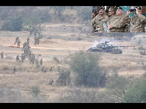 Dunya News - Pakistan Army, Air Force hold field firing and battle inoculation exercise