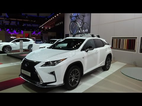 2016 - Lexus RX 450h Sport-Line - Exterior and Interior - Auto Show Brussels 2016