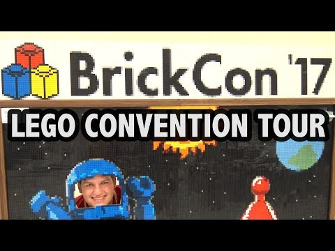 Complete Guided Tour of BrickCon 2017 LEGO Exhibition