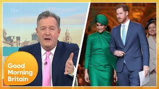 Piers Erupts at Prince Harry & Meghan's Oprah Winfrey Interview | Good Morning Britain