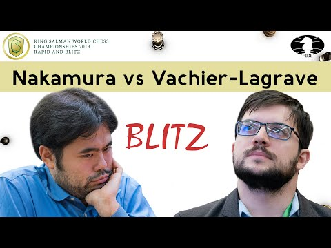 Mating net in the endgame | Nakamura vs Vachier-Lagrave | World Blitz Championship 2019 |
