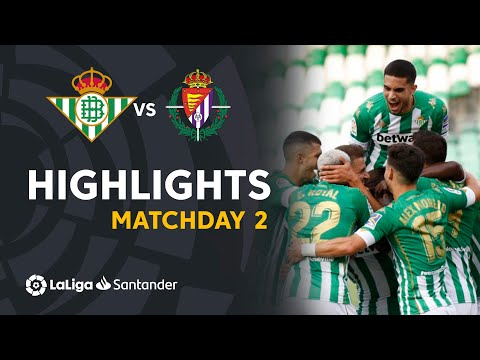 Betis Valladolid Goals And Highlights