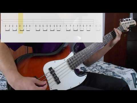 R U Mine? - Arctic Monkeys [Bass Cover WITH TABS] (Playalong)