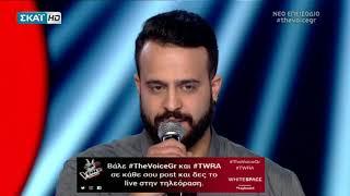 The Voice of Greece 2 | Battles - Κωνσταντίνος Κυριάκου vs Μάνος Κούκος