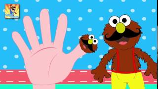 Finger Family Elmo Finger Family   Finger Family Songs   Finger Family Parody