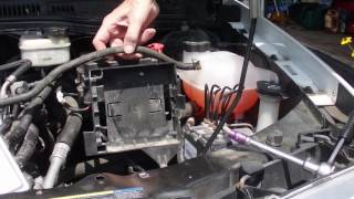 Removal Saturn Ion Expansion  Surge  Tank
