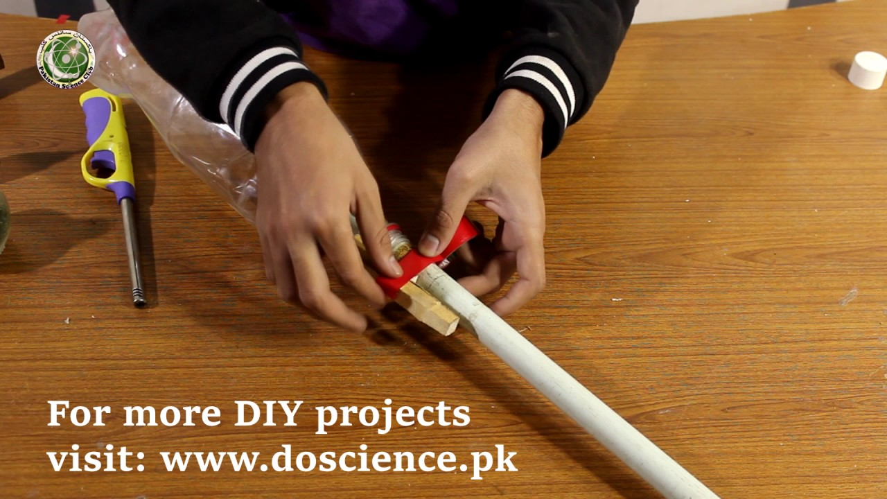 bottle rocket science project Easy way to make a bottle rocket our way chemistry class bottle rocket project medina and salima pcss click on the link below to watch our updated ver.