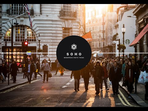 How to create Landing pages - SOHO - Fullscreen Photo & Video WordPress Theme
