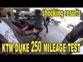 ktm duke 250 mileage test | shocking results | bullet singh boisar