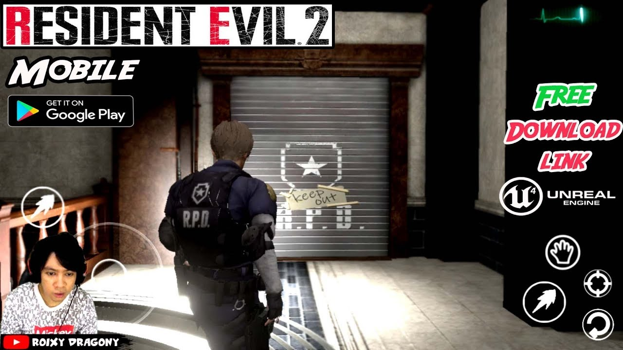 Astagaa Rilis Juga !!! Resident Evil 2 Remake Mobile Gameplay INDONESIA +  Download Link