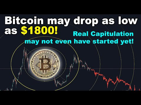 Bitcoin May Drop As Low As $1800! Real Capitulation Might Not Have Even Started Yet - 2019 BTC Crash