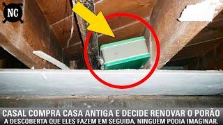 Download Casal compra casa antiga e decide renovar o porão. A descoberta que eles fazem em seguida, ninguém..