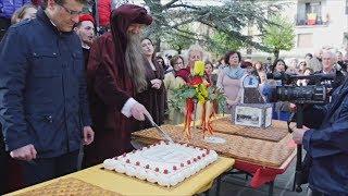 В Винчи устроили гуляния в день рождения Леонардо да Винчи