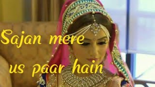 Sajan Mera Us Paar Hain 💝 heart touching 😢 whatsapp status by :-- king khan Creation