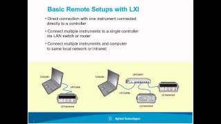 lxi and basic remote instrument setup