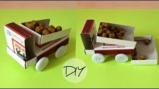 Matchbox dump truck with button wheels | Maison Zizou