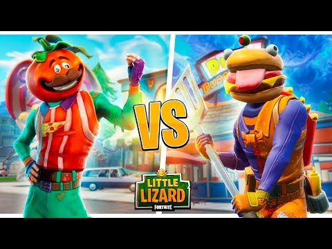 Durr Burger Beef Boss Vs Tomato Head Fortnite Short Films