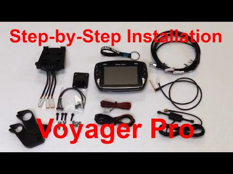 Trail Tech Voyager Pro GPS Step-by-Step Installation On KTM 500 Exc ChapMoto.com