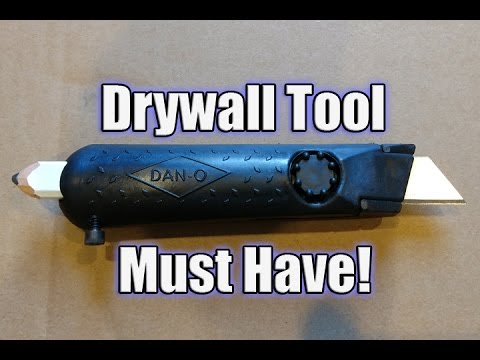 Dan-O Tool Tradesman 1 - Drywall Knife & Carpenters Pencil