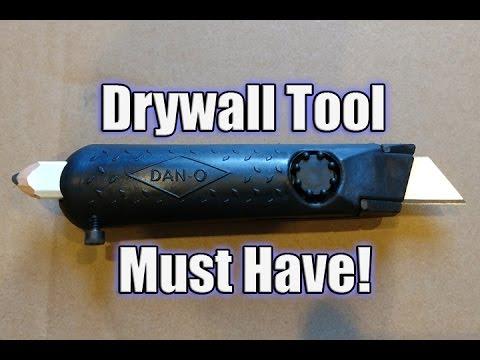 Dan-O Tool Tradesman 1 - Drywall Knife & Carpenters Pencil
