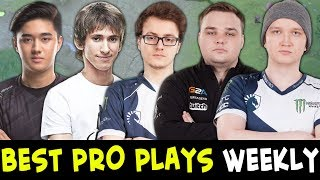 Best PRO plays of the week #24 — Dendi, Abed, Miracle