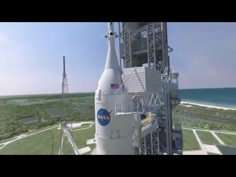 Orion Spacecraft Arrives for Exploration Mission-1