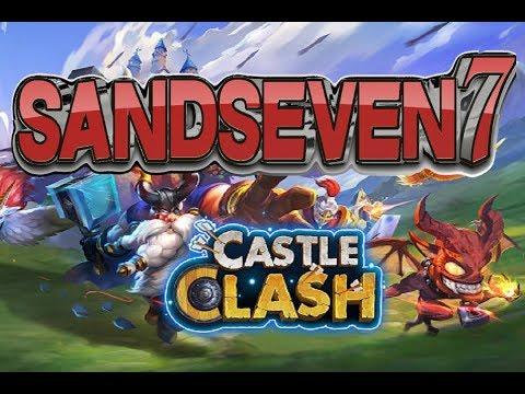 Castle Clash The Legend Of SandSeven
