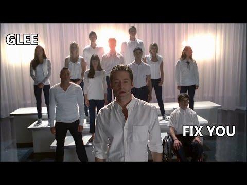 Glee-Fix You (Lyrics/Letra)
