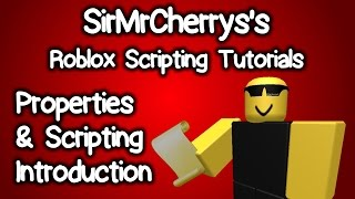 Roblox Scripting Tutorial #1 - Properties and Scripting Introduction
