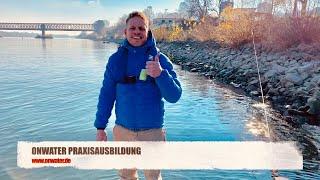 Sportbootführerschein Binnen und See Manöver Praxis ONWATER Bootsschule in Mainz, Rhein Main