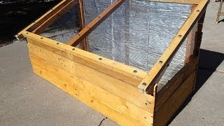 Garden Cart Cold Frame