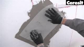 видео Смесь строительная CERESIT для стяжек (пескобетон) М-200, (30-100мм), 25 кг
