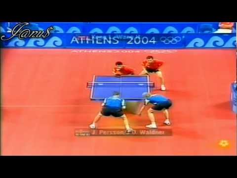 2004 Olympics (md-R16) KONG Linghui/WANG Hao - WALDNER J-O/PERSSON Jörgen [Full*/Short]
