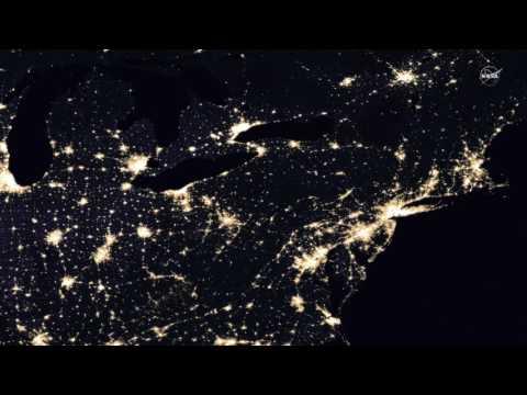 Lights Of Human Activity Shine In NASA's Image Of Earth At Night