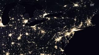 Lights of Human Activity Shine in NASA