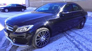 2016 Mercedes-Benz C180. Start Up, Engine, And In Depth Tour.