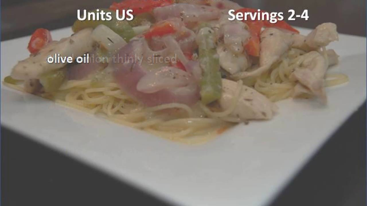 olive garden chicken scampi recipe - Olive Garden Chicken Scampi