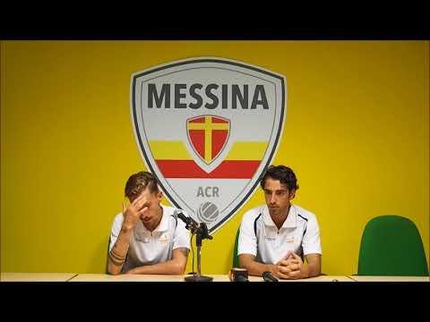 Messina-Nocerina, le dichiarazioni di Lavrendi e Migliorini