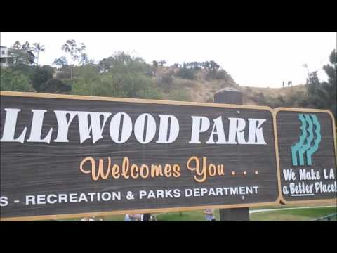 Lake Hollywood Park Sign Los Angeles Southern California Tourist Tourism View Picture Spot