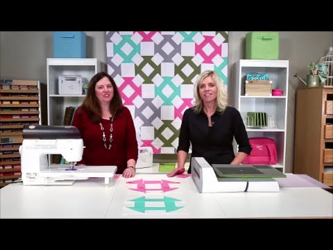 Learn How To Make The GO! Churn Dash Baby Quilt