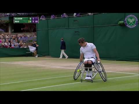 2016, Day 13 Highlights, Gordon Reid vs Stefan Olsson