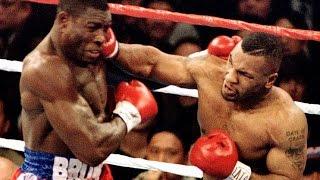 Бокс. Майк Тайсон - Франк Бруно 1- бой (Беленький, Высоцкий) Mike Tyson - Frank Bruno (1)