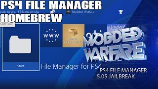 PS4 Homebrew File Manager Tutorial (5.05 Jailbreak)