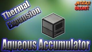 Aqueous Accumulator (Thermal Expansion) | Minecraft Mod Tutorial