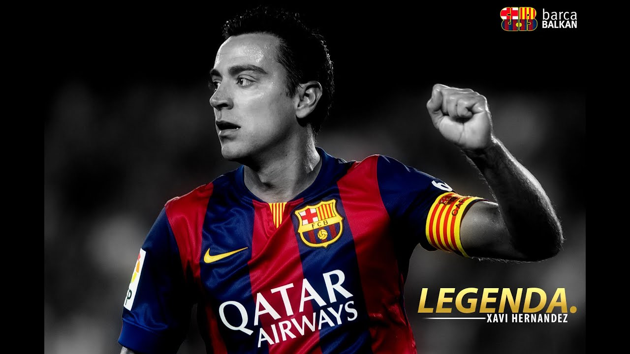 Xavi Hernandez Best Passes And Control LEGEND 2014/2015 ...