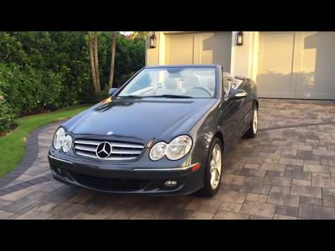 2008 Mercedes-Benz CLK350 Cabrio Review and Test Drive by Auto Europa Naples