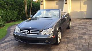 2008 Mercedes-Benz CLK350 Cabrio Review and Test Drive by Auto Europa Naples MercedesExpert com