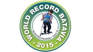 World Record Attempt | Largest Scooter Parade | Batavia, Illinois