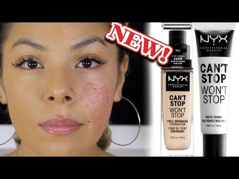 WORTH THE BUY OR NAW?!?  NYX CANT STOP WONT STOP FOUNDATION